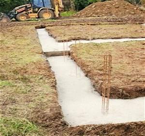 fondation de maison individuelle comment faire a quel With profondeur de fondation maison