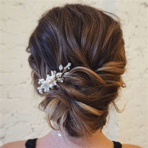textured updo   breathtaking  dos bridal