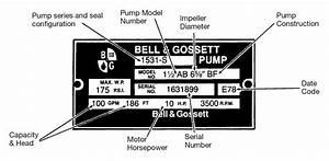 Bell  U0026 Gossett Pump Quote