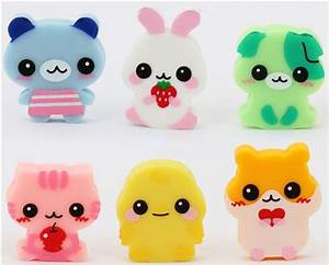 6 cute baby animals erasers from Japan | Cute! | Pinterest ...