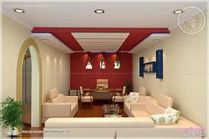 home office interior design by siraj vp home kerala plans With image of house interior design