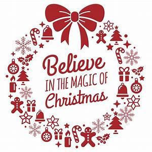 Believe Magic o... Uk Christmas Quotes