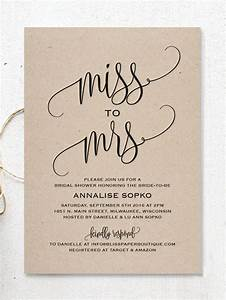 17 printable bridal shower invitations you can diy With wedding shower invitations templates