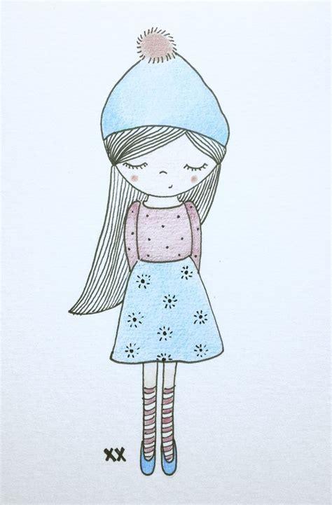 meisje illustratie girl illustration mannekes