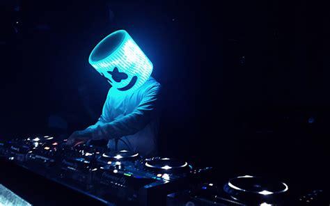 Download Wallpapers Marshmello, 4k, Dj, Night Club, Superstars, Dj Marshmello, Night Party