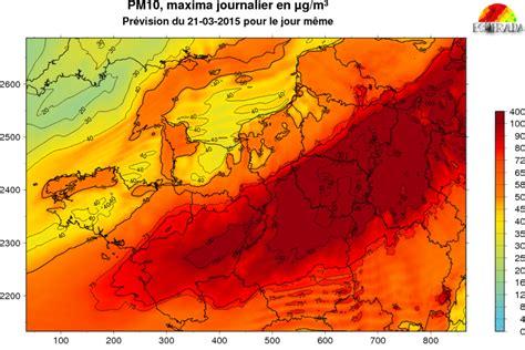 Carte Pollution Europe by Carte Pollution Europe Imvt
