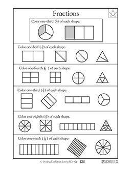 st grade  grade  grade math worksheets shape