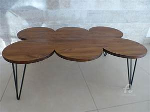 Table Basse Retro : table basse vintage helene deco ~ Teatrodelosmanantiales.com Idées de Décoration