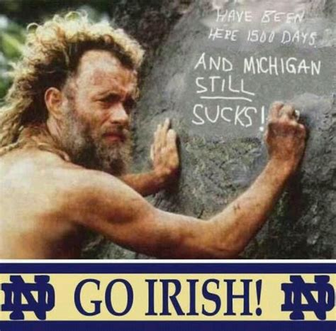 Notre Dame Meme - image gallery notre dame football memes
