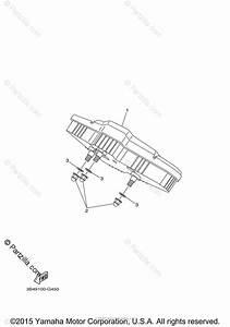 Yamaha Atv 2009 Oem Parts Diagram For Meter