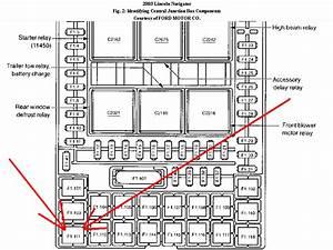 2005 Lincoln Navigator Air Suspension Diagram