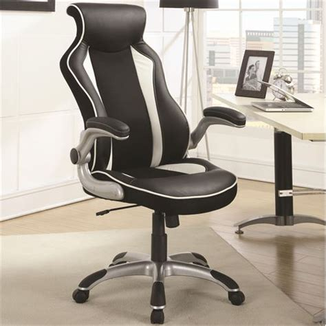 coaster furniture 800048 office task chair with race car