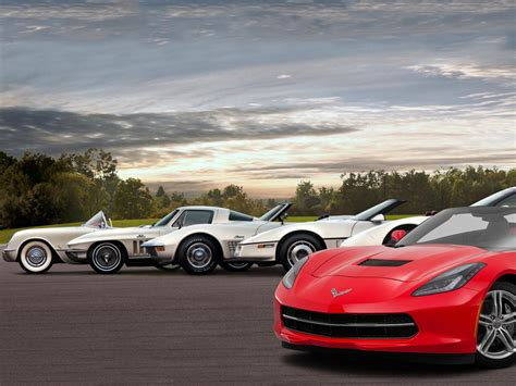 History Of The Chevy Corvette by Auto Evolution The Chevy Corvette Through The Generations