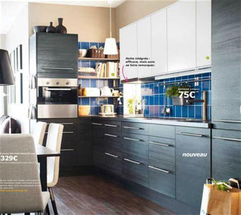 Modèle De Cuisine Ikea Faktum Gnosjö Noir L'élégance