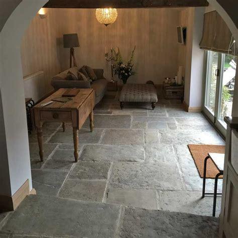 reclaimed antique english yorkstone flooring