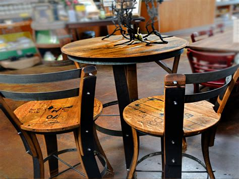 kitchen bistro table and chairs outdoor bar table and chairs wine barrel bistro table and