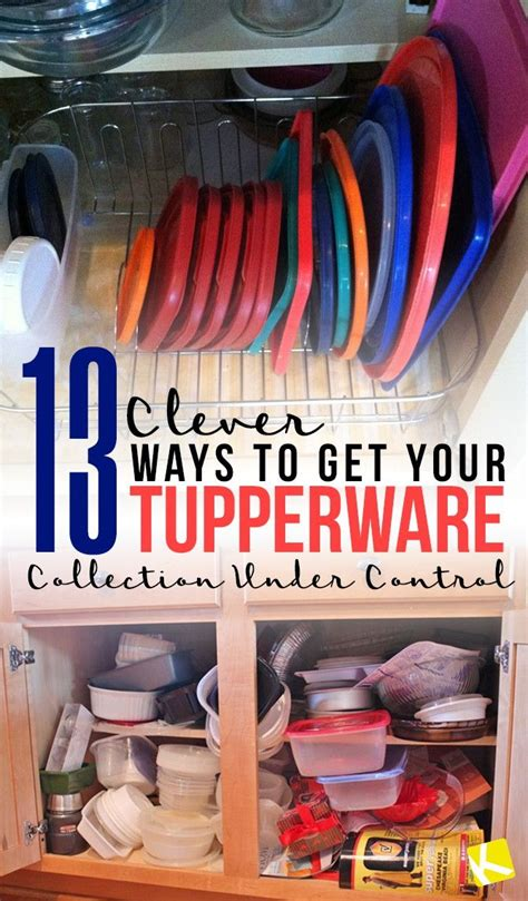 clever ways    tupperware collection