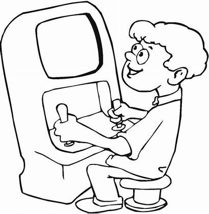 Coloring Games Pages Playing Colouring Arcade Play