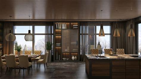 plan cuisine ouverte salle manger image maison design contemporain 3 intérieurs de rêve