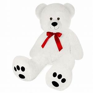 Ours En Peluche Xxl : grand nounours g ant ours en peluche ourson xxl teddy bear blanc ebay ~ Teatrodelosmanantiales.com Idées de Décoration