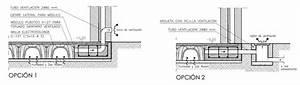 forjado sanitario ventilado AD+ arquitectura