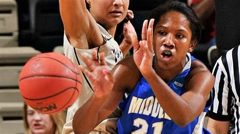 womens college basketball middle tennessees ebony rowe