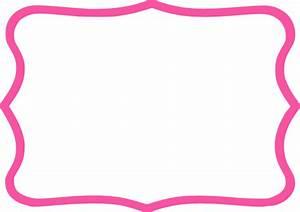 Hot Pink Frame Clip Art at Clker.com - vector clip art ...