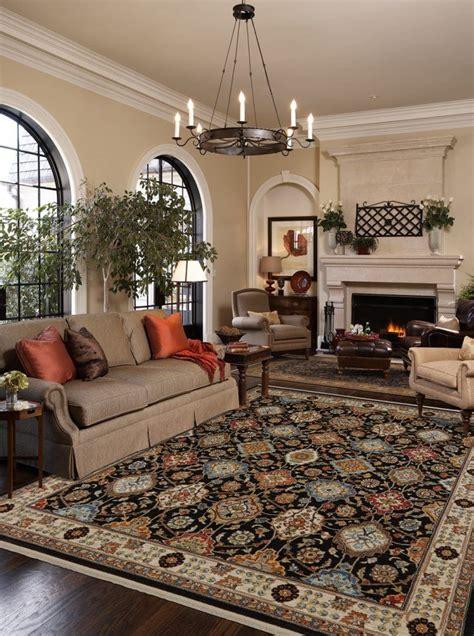 beautiful living rooms  karastan rugs