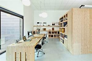 Minimalist, Office, Interior, Design, Combining, Two, Companies, Into, One, U2013, Office, Dones, Del, 36