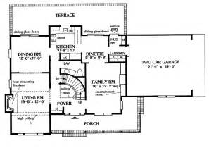 center colonial floor plan 301 moved permanently