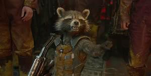 Rocket Raccoon from Guardians of the Galaxy Desktop Wallpaper