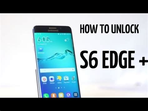 How To Unlock Galaxy S6 Edge Plus  At&t, Tmobile