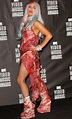 Lady Ga Ga's Meat…um….Meat Dress Goes To The R & R Hall Of ...