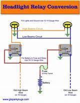 5 Wire Headlight Relay Wiring Diagram