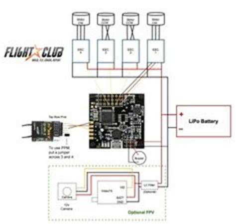skyline32 naze32 setup wiring guide to motors and esc quadcopter