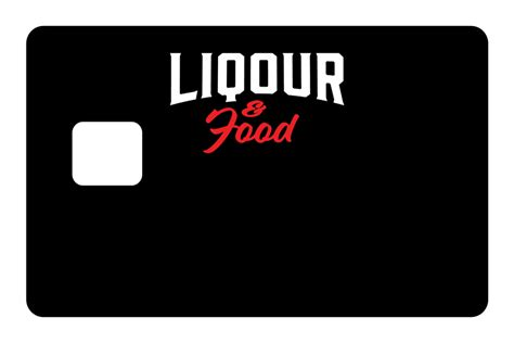Personalize any bank card in the world. Liqour And Food in 2020   Liqour, Personal cards, Food