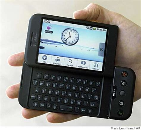 Google, Tmobile Introduce First Android Phone Sfgate