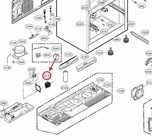 Lg Part  Acg74204702 Refrigerator Condenser Assembly  Oem