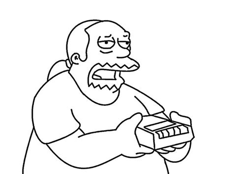 45 Best Coloring Pages (the Simpsons) Images On Pinterest