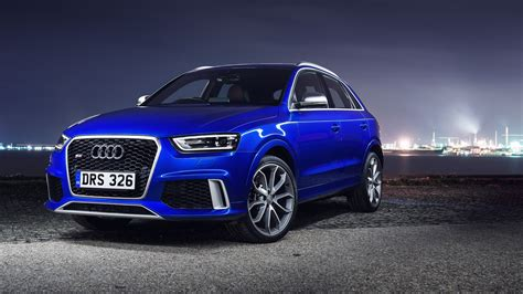 wallpaper audi rs  crossover audi cuv city night