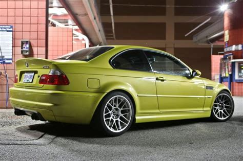 Phoenix Yellow E46 M One Of My Attainable Dream Cars
