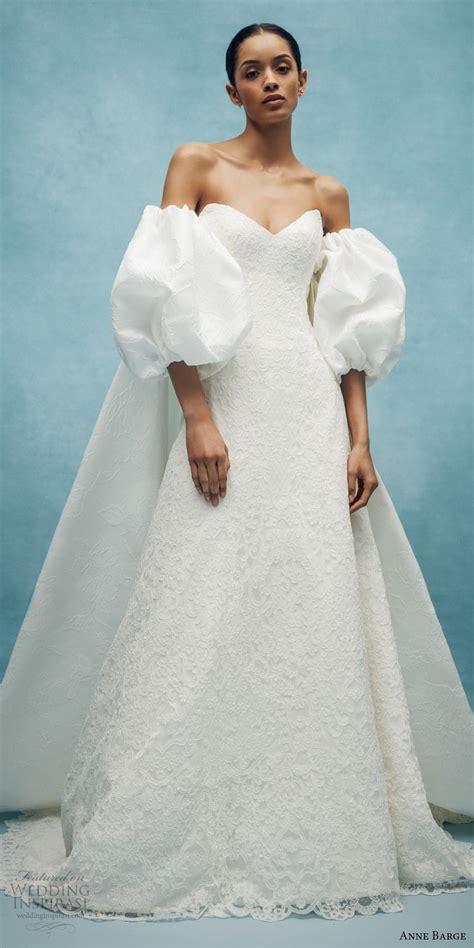 anne barge spring  wedding dresses wedding inspirasi