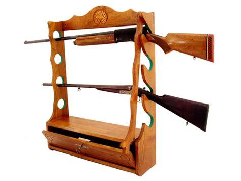 armoire porte carabines et fusilsde de chasse bois poterie