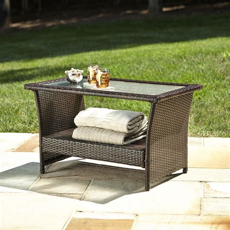 Ty Pennington Patio Furniture Parkside by Ty Pennington Style Parkside Coffee Table Outdoor Living