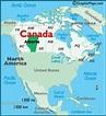 Canada Calgary Map