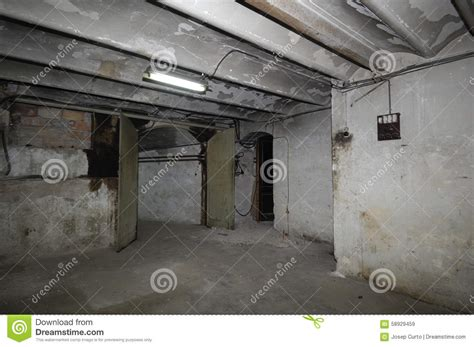 Old Room House Wiring Stock Image