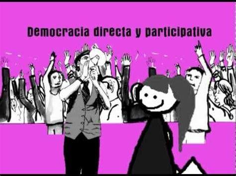 Para continuar el tema anterior colocamos el concepto de lo que es la democracia indirecta o representativa. Campaña por una democracia directa y participativa- spot03 ...