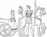 Ancient Greek Coloring Pages Olympics Greece Chariot Olympic Drawing Roman Flag Charriot Gods Soldier History Colouring Sports Rome Sheets Drawings sketch template