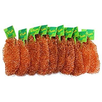 amazoncom yethan copper scouring pad  pcspack  pure copper  pc home kitchen