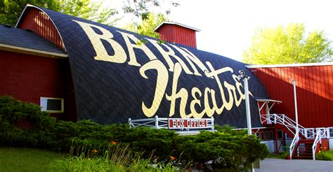 Barn Augusta by Barn Theatre School In Augusta Michigan See Of